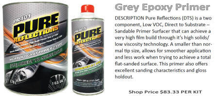 Pure Reflections DTS GRAY EPOXY PRIMER
