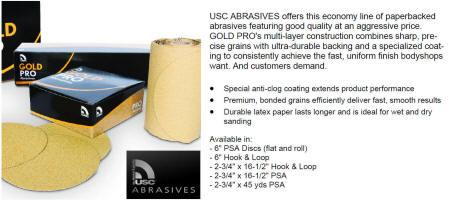 USC Gold Pro Abrasives