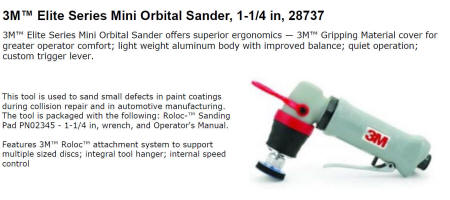 3M 28737 Mini Orbital Sander