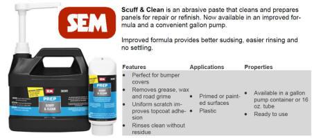 SEM 38391 & 38398 Scuff & Clean