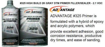 Advantage 325 DTM Epoxy Grey Primer Sealer